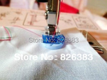 1 piece good qality home sewing machine Clip on button sew-on  presser foot NO.742-9