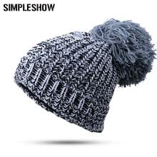 New Fashion Female Toucas Beanie Hat Knit Winter Hat For Girls Women Skullies Beanies For Women Brand Hat De Inverno Gorros