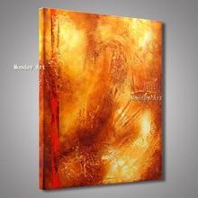 Лучший!  Абстрактная живопись маслом ручной работы в скандинавском стиле золото картина маслом на холсте  Лучший!