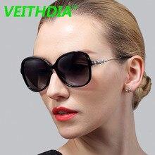 VEITHDIA Original Brand HD Polarized Sunglasses Women Driving Goggles Eyeglasses TR Frame Ladies Designer Sun Glasses 7026