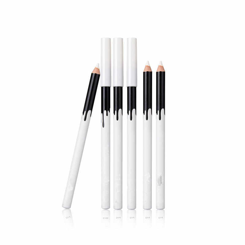 Nowy e ye l iner kolor tanie makijaż wysokiej jakości Menow marka długotrwały Pigment wodoodporny biały e yel iner ołówek Lot 70