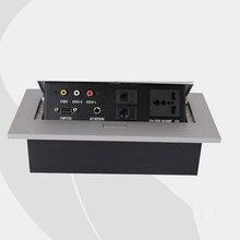 New Design Tabletop Socket ,Conference Table Multimedia Panel 220~250V 50/60Hz (SP-LS602)