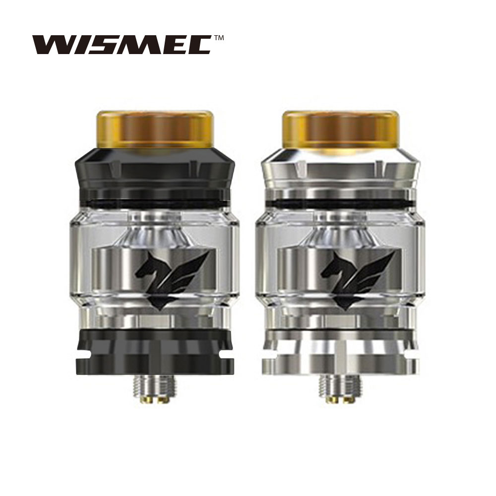 New Original Wismec Bellerophon RTA Tank 4ml Large Capacity with 0.28ohm Clapton Coil & Airflow Trail System E-cig Vape Atomizer original ijoy limitless xl tank 4ml e cig rta atomizer vape tank with xl1 coil xl c4 light up chip coil 0 15ohm limitless xl
