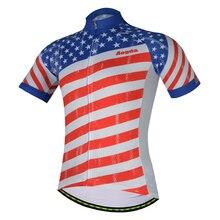 2018 Hot USA International New Pro Team Cycling Jersey Wear American Sport  Dirt Mountain Short Sleeve 8c570e95b