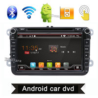 Quad Core Android 2Din 8 Inch Car DVD Player For VW GOLF 5 6 POLO PASSAT