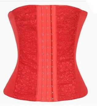 sale waist   corsets   shaper black/khaki/red underbust   corset   steel waist cincher shaper for women XS-6XL