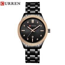 カレンブランドファッションの高級ラインストーン腕時計カジュアル女性腕時計女性時計レロジオ Feminino ギフト