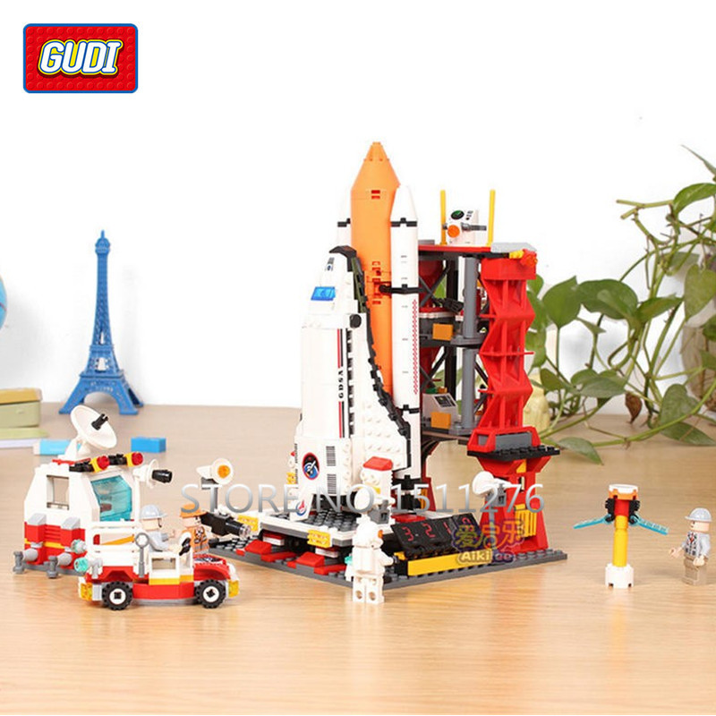 AIBOULLY Spaceport 679Pcs Star Wars Space War The Shuttle Launch - Juguetes de construcción - foto 2