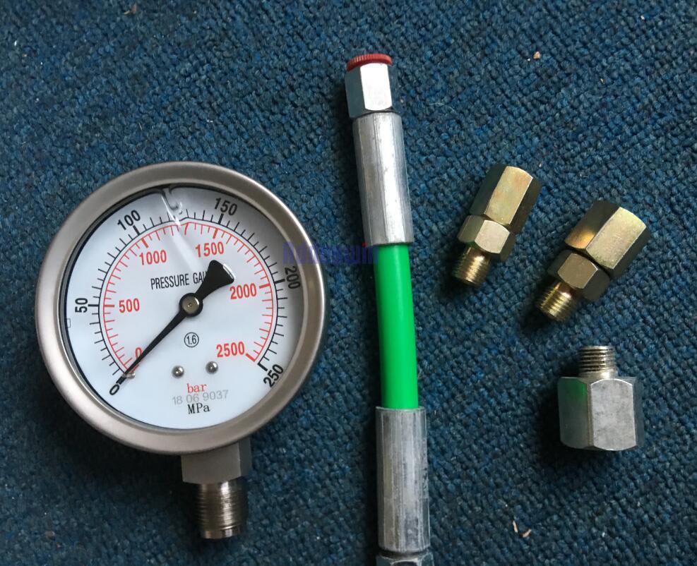 0 250Mpa Common Rail High Pressure tester for diesel oil circuit common rail plunger common rail