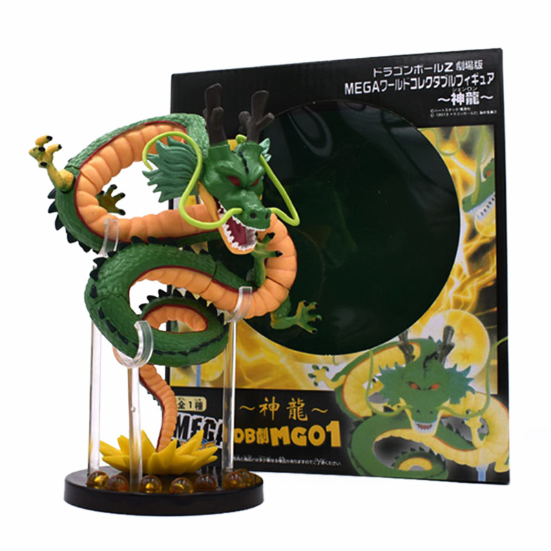 Anime 15CM Dragon Ball Z ShenRon ShenLong Ultimate Shenron Black Star Dragon Ball Saga PVC Action Figure Collectible Model ToyAction & Toy Figures   -