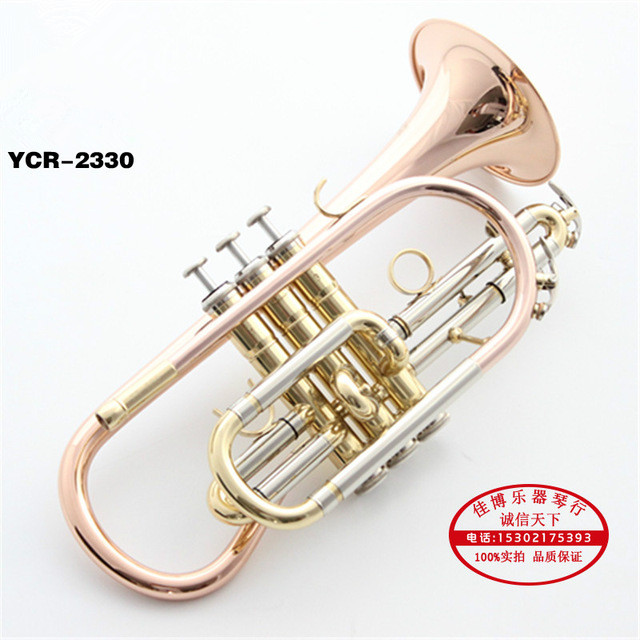 YTR-2335S Professional Packet Trumpet Brass Surface Silver Plated Bb B Flat Music Instruments With Case And Mouthpiece Trombeta