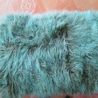 2016 Two zone Mongolian Lamb Fur Plate Real Fur Rug For Sofa Curly Throw Blanket Carpets for Living Room Plate New Wool 2'x4'