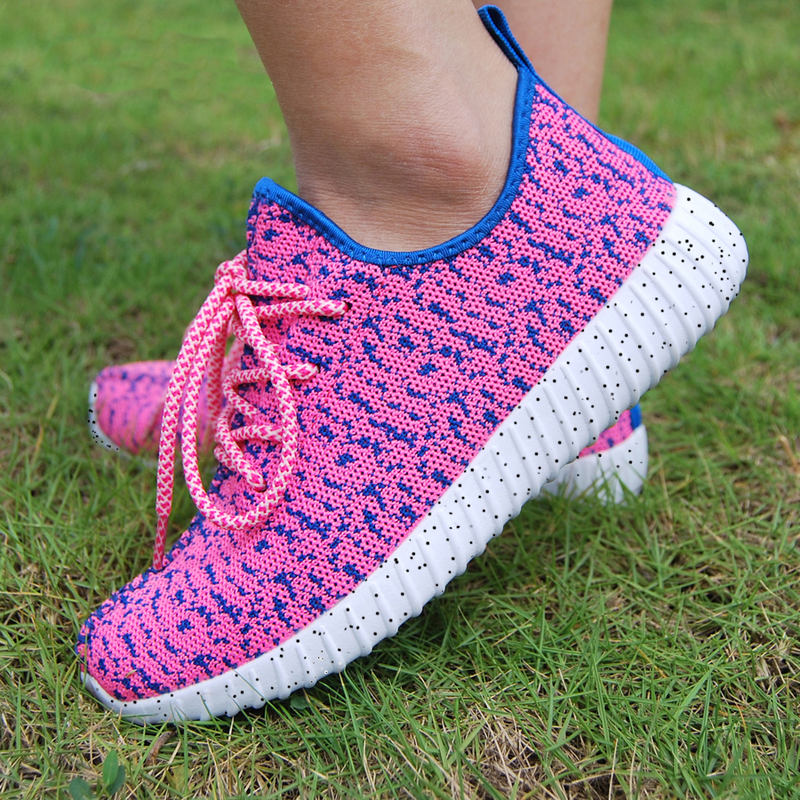 16 new black color sport shoes woman and man,new idea computer woven breathable sneakers woman & man,comfortable shoes 23
