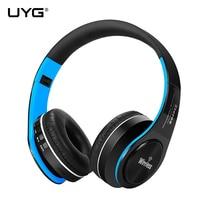 UYG Bluetooth Headphones Wireless Headset Handsfree Earphones Mp3 With Microphone TF Card FM Radio Headphone For
