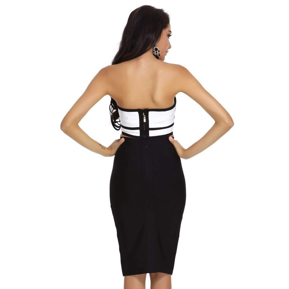 women bandage dress fh70-3