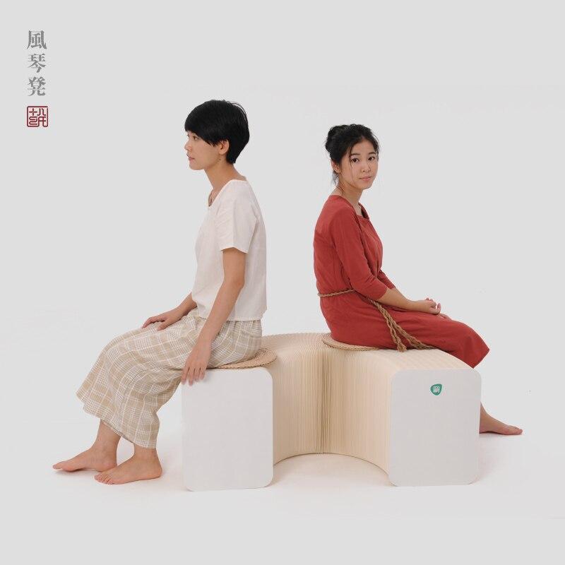 Le salon café-restaurant meubles créatifs dinant la chaise beaucoup de personnes seat meubles de protection de l'environnement