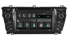 Car dvd Player for TOYOTA COROLLA 2014 2015 Cortex A9 dual core 256MB ram/Capactive touch/1080P/DVR/3G/WIFI/TPMS/GPS