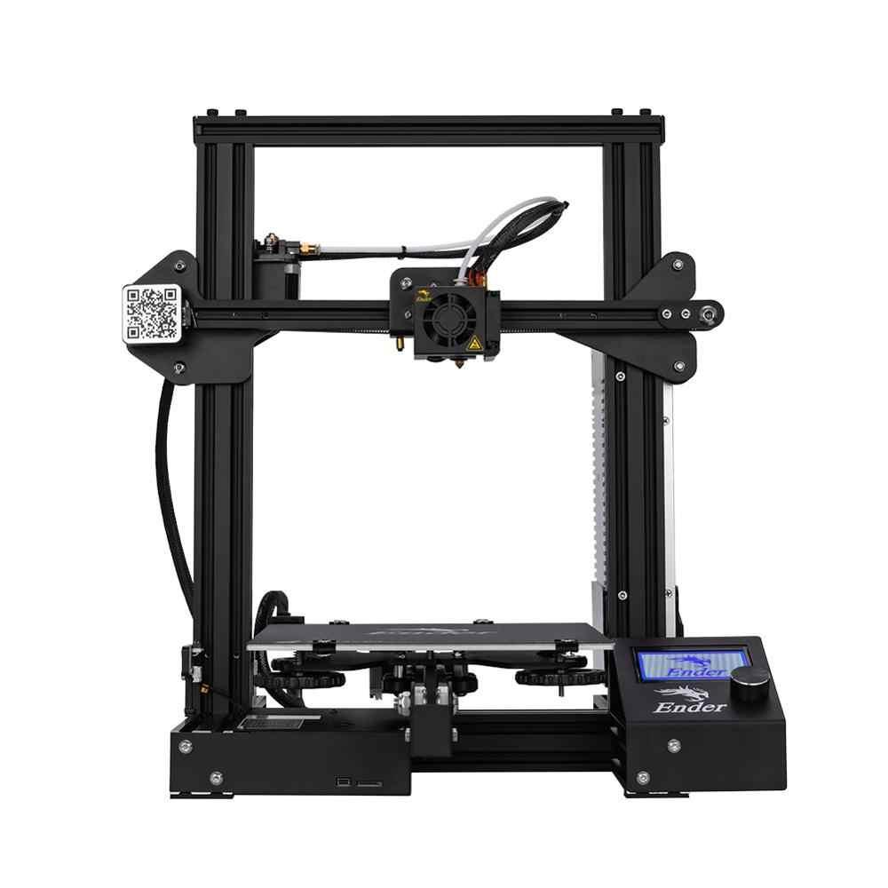 Горячая продажа Ender-3 DIY комплект 3D принтер большой размер I3 мини Эндер 3/Ender-3X принтер 3D печать мощность Creality 3D