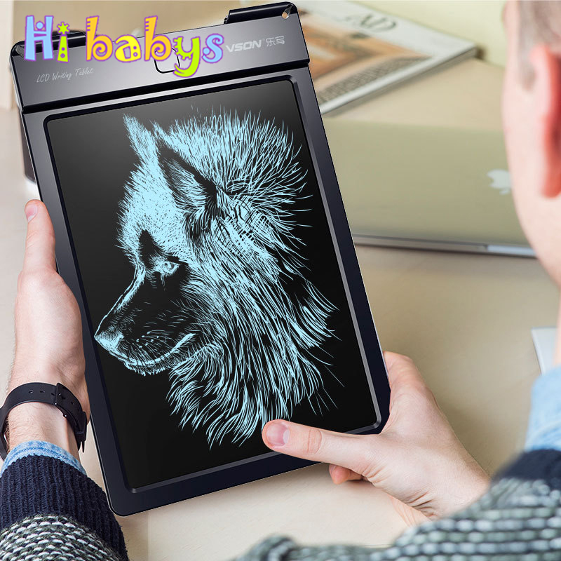 13 inch Portable LCD Board Writing Tablet Save Drawing Graphics Board Content Kids Electronic Notepad Save Child Notepad Board save 20
