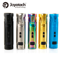 Original Joyetech ULTEX T80 80W Max Output Mod With 0.49 inch OLED Screen No 18650 Battery for Cubis Max Atomizer Vs Evic Primo