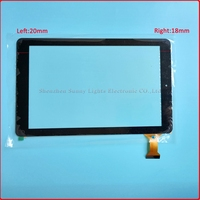10pcs/lot 10.1'' inch new for tablet pc Touch Screen compacitive glass lens Digitizer panel Rj899 Ver.00 45pin