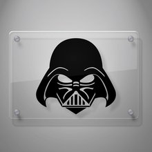 Yoonek Graphics Darth Vader Decal, Star Wars Sticker for Car Window, Laptop, Motorcycle, Walls, Mirror and More