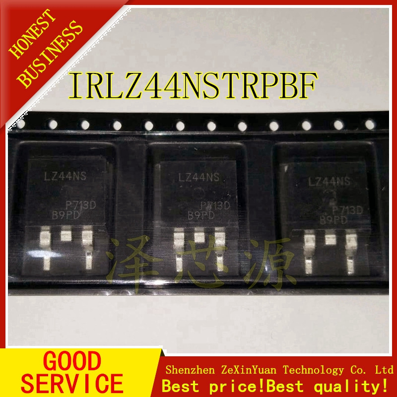 10PCS/LOT IRLZ44NSTRPBF IRLZ44NSTR IRLZ44NS LZ44NS TO-263