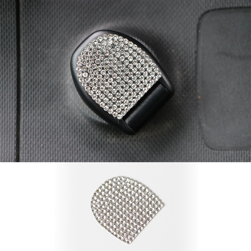 Auto Styling Zubeh/ör 1 Stck JTAccord Auto 3D personalisierte Flash Drill Air Border Aufkleber f/ür Mercedes Smart 453 Fortwo Forfour 2015-2019