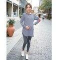 Maternity Set Autumn Maternity Clothing T-shirt Long-sleeve Top Sports Casual Fashion Pants Pregnant Clothing