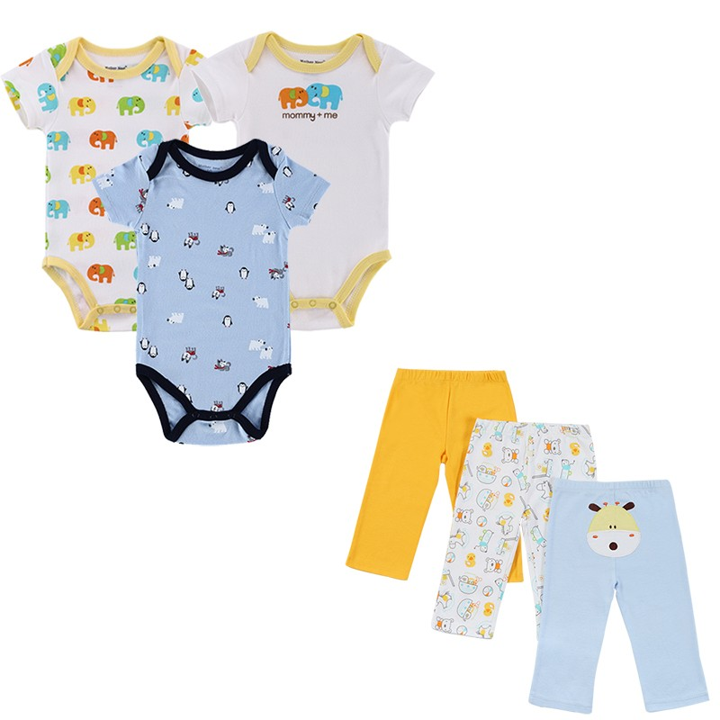 2016 Similar Cartes Summer Style Infant Clothes Baby Clothing Sets Boy Cotton Cartoon Short Sleeve 3 Sets Baby Boy Clothes (1)