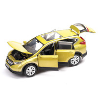For Honda Family Car Model Simulation Speelgoed Auto De Juguete Pull Back Car Off road Toy Vehicle SUV Diecast Toy Car Gift 1:32