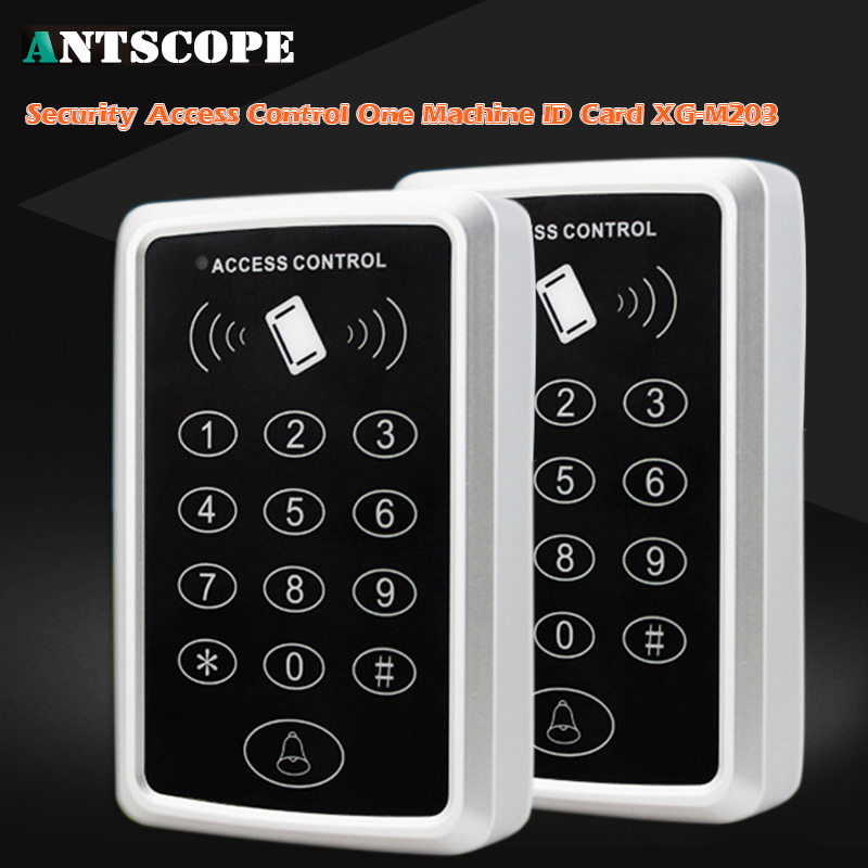 Touch Keyboard 300KHZ Access Control System Number Keyboard Password GSM Pstn Home Alarm RFID Access Control System Auto Lock s 108 no power 1000 set password trouble free 3 digit number cabinet lock access control system password lock hook