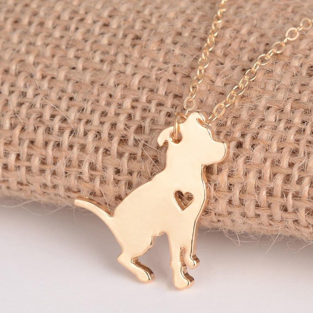 Fashion Jewelry Pit Bull Kaelakee Pitbull kohandatud koer kaelakeed - Mood ehteid - Foto 4