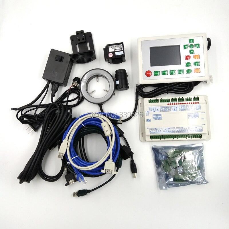 Купить с кэшбэком RDV6442G CCD camera system Standalone Laser Cutting System with Machine Vision