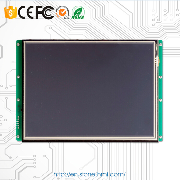 Embedded Open Frame Touch LCD 10 1 inch with Controller Program Support Any MCU Microcontroller in LCD Modules from Electronic Components Supplies