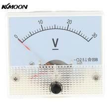 DC 0-30 V Analog voltmetre Analog Panel voltmetre Metre şarj doktor Voltimetro dijital voltmetre medidor de potencia