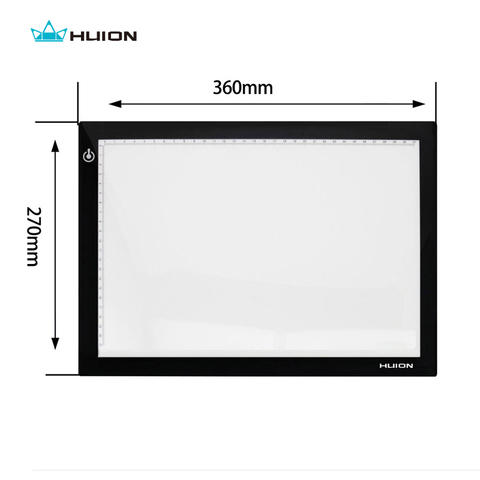 "Hot Sale Huion L4S 17.7""  LED Light Pad Ultra Thin Light Boxes LED Tracing Boards Professional Animation Drawing Tracing Panel Lahore"