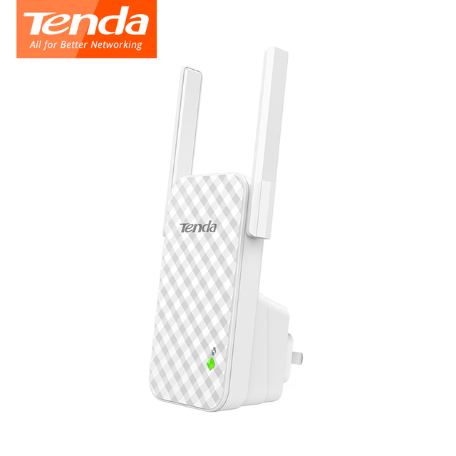 Tenda A9 Wifi Router 300Mbps 2*3dBi Antennas Wifi Signal Amplifier Repeater Enhance AP Receiving Launch Client + AP