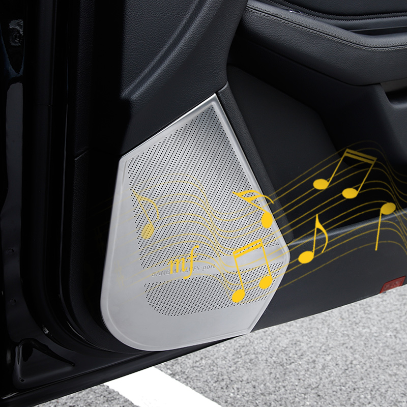 Panneau de haut-parleur de porte capots de bordure pour mercedes-benz ML320 2012 W166 GL X166 GLS amg GLE coupe C292 décoratif intérieur