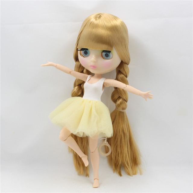 TBL Neo Blythe Doll Golden Hair Jointed Body