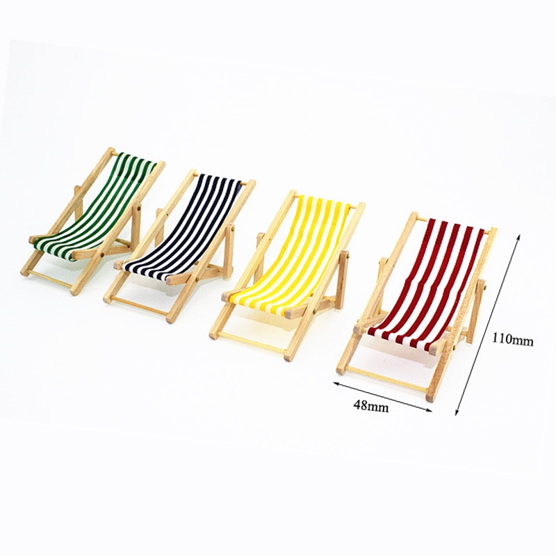Awesome Us 2 36 30 Off Mini Beach Chair 1 12 Foldable Wooden Deck Beach Lounge Chair Couch Recliner For Dolls House Lounge Dollhouse Miniature Chairs On Creativecarmelina Interior Chair Design Creativecarmelinacom