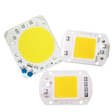 LED Lamp Chip Integrated COB 5W 20W 30W 50W 220V 240V Smart IC Driver Cold Warm White LED Spotlight Floodlight Growth Grow(China)