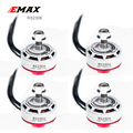 4PCS EMAX Original RS2306 2400KV /2750KV White Editions RaceSpec Brushess Motor For FPV Quadcopter