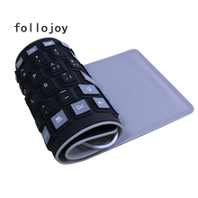 Spanish keyboard English 103 Key USB Soft Silicone Waterproof For for desktop computer laptop tablet Mobile phone