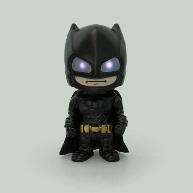 Batman VS <font><b>Superman</b></font> Funko POP Knightmare Batman DC Dawn of Justice Heroes Induction light <font><b>action</b></font> <font><b>figures</b></font> Toy Kids Birthday Gift