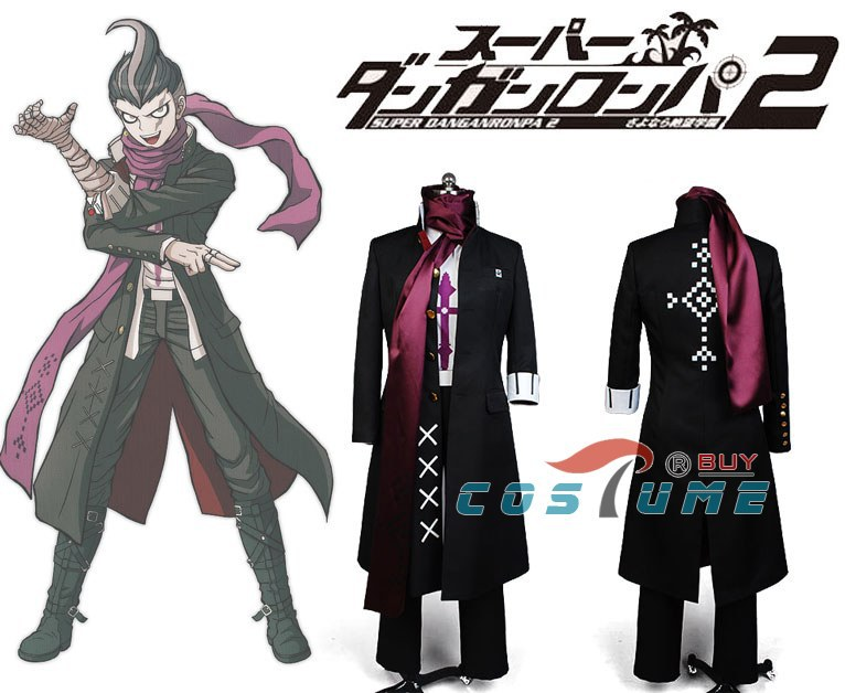 Danganronpa Dangan Ronpa Gundham Gundam Tanaka Outfit Cosplay{PO{