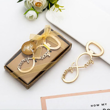 20pcs/lot Party Favors Wedding Souvenir Personalized Love Letters Bottle Opener Gift Presents For Baby Shower Guest Giveaways