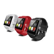 Bluetooth Smart Uhr Tragbare Geräte Armbanduhr U8 Smartwatch Fitness Tracker Schlaf Tracker Passometer Für Android IOS