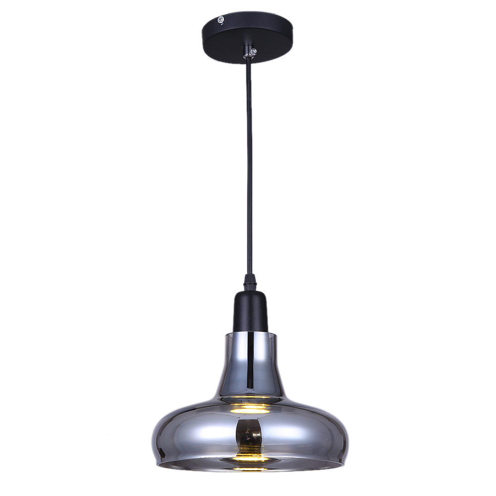 industry amp business commercial lighting gray color vintage glass chandelier lamp edison cord light 110v cheap industrial lighting