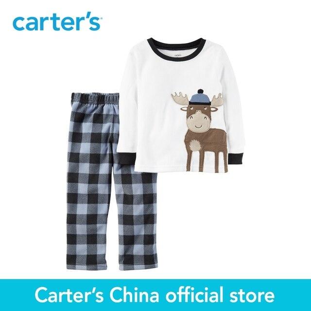 Картера 2 шт. детские дети дети 2-х Частей Руно PJs 367G116, продавец картера Китай официальный магазин